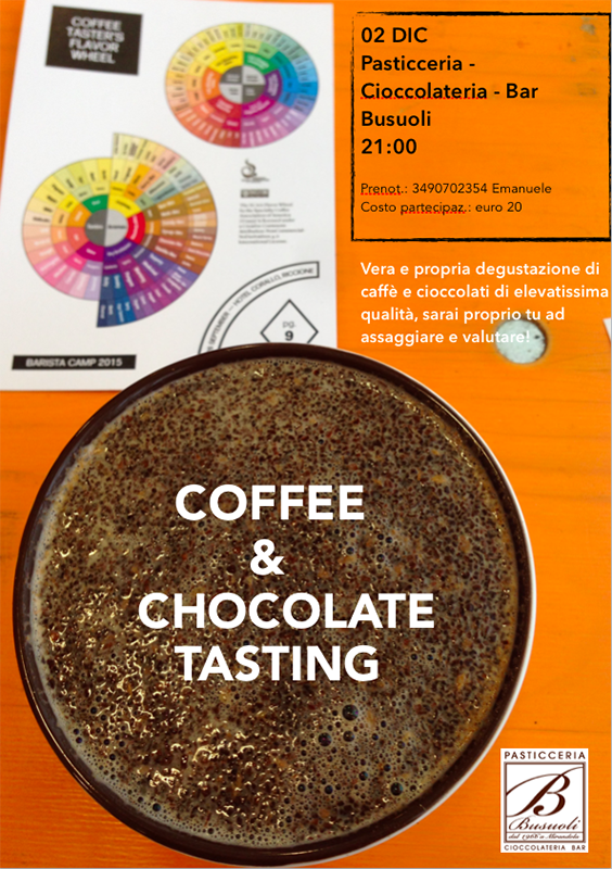Coffe & chocolate tasting
