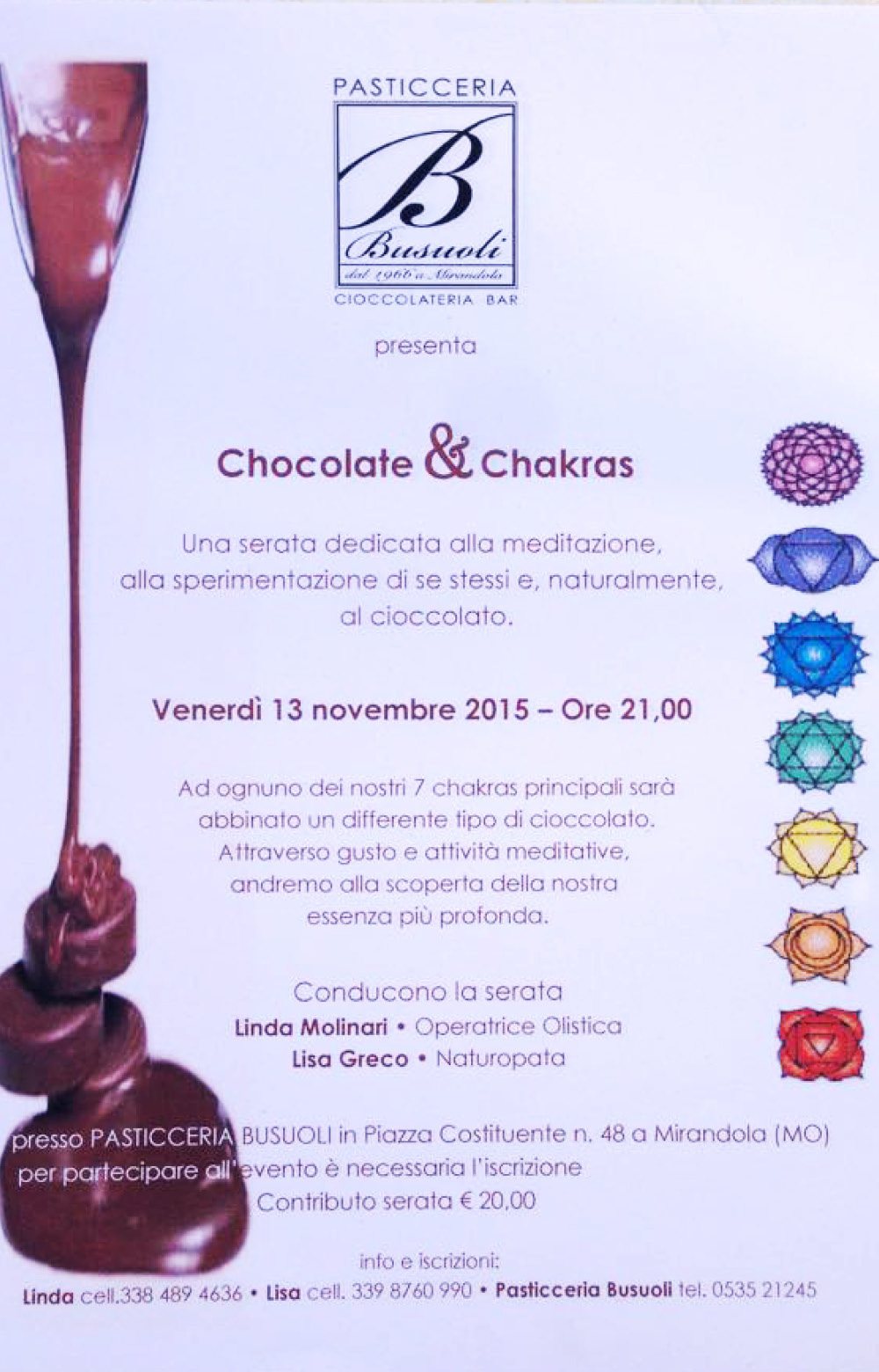 Chocolate & Chakras